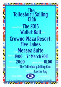 Wallet Ball @ Crowne Plaza | Tolleshunt Knights | United Kingdom