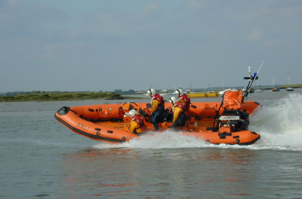 West Mersea Lifeboat DIGNITY.